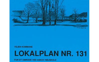 Lokalplan 131 – Området omkring Askov Højskole